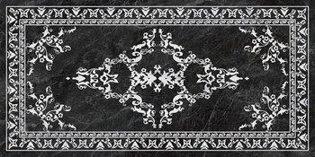 Риальто серый тёмный декорированный лаппатированный-4749