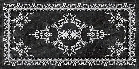 Риальто серый тёмный декорированный лаппатированный - главное фото
