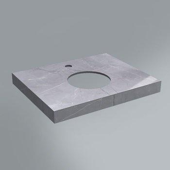 Спец. изделие декоративное Риальто серый лаппатированный-9369