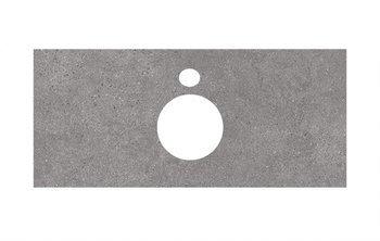 Спец.декоративное изделие для накладных раковин Фондамента серый-9290
