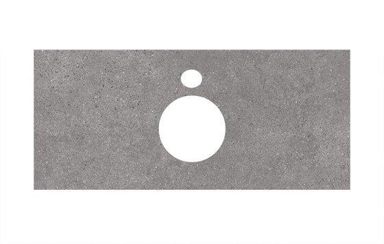 Спец.декоративное изделие для накладных раковин Фондамента серый - главное фото