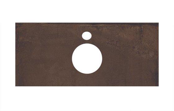 Спец. изделие декоративное для накладных раковин Про Феррум коричневый  - главное фото