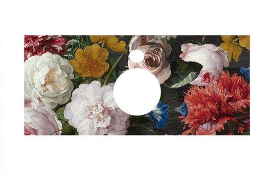 Спец.декоративное изделие для накладных раковин Парк Роз (Флауэрс) - главное фото