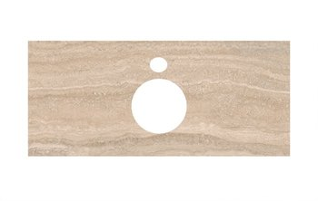 Спец.декоративное изделие для накладных раковин Риальто песочный-9260