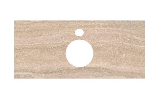 Спец.декоративное изделие для накладных раковин Риальто песочный - главное фото