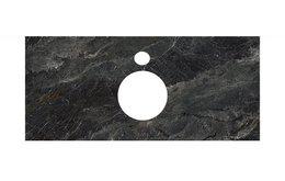 Спец.декоративное изделие для накладных раковин Риальто темный серый лаппатированный