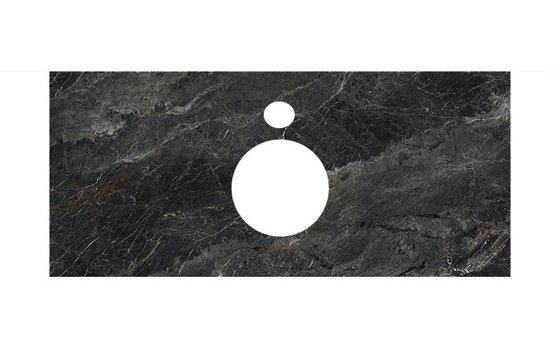 Спец.декоративное изделие для накладных раковин Риальто темный серый лаппатированный - главное фото