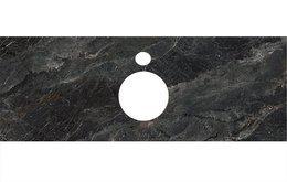 Спец. изделие декоративное для накладных раковин Риальто темный серый лаппатир.