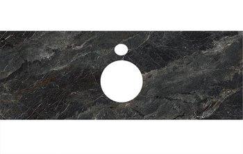 Спец. изделие декоративное для накладных раковин Риальто темный серый лаппатир.-9226