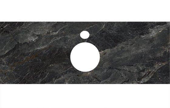 Спец. изделие декоративное для накладных раковин Риальто темный серый лаппатир. - главное фото