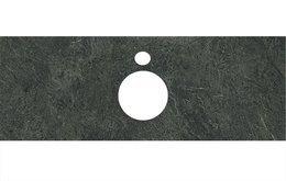 Спец.декоративное изделие для накладных раковин Риальто зеленый темный
