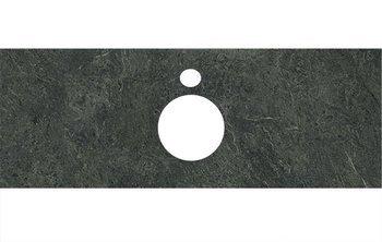 Спец.декоративное изделие для накладных раковин Риальто зеленый темный-9264
