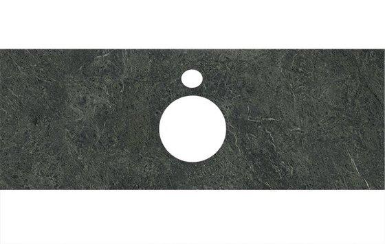 Спец.декоративное изделие для накладных раковин Риальто зеленый темный - главное фото