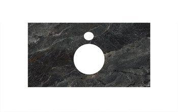 Спец. изделие декоративное для накладных раковин Риальто темный серый лаппатир. -9217