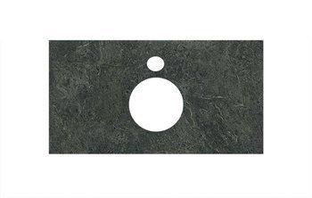 Спец.декоративное изделие для накладных раковин Риальто зеленый темный-9252