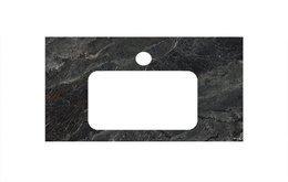 Спец.изделие декоративн.для раковин,встраиваемых снизу Риальто темный серый лаппат , 48*80