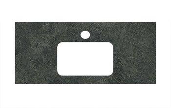 Спец.декоративное изделие для раковин, встраиваемых сверху Риальто зеленый темный-9261