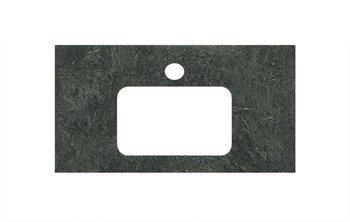 Спец.декоративное изделие для раковин, встраиваемых сверху Риальто зеленый темный-9255