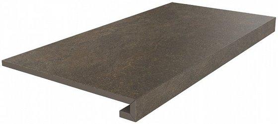 Ступень клееная Про Стоун коричневый - главное фото