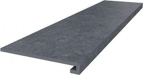 Ступень клееная Роверелла серый темный - главное фото