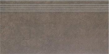 Ступень Королевская дорога коричневый обрезной-8885