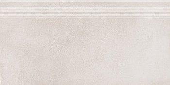 Ступень Мирабо серый светлый обрезной-5843