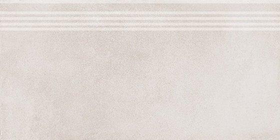 Ступень Мирабо серый светлый обрезной - главное фото