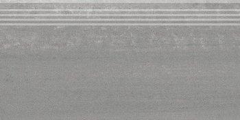 Ступень Про Дабл серый темный обрезной-6605