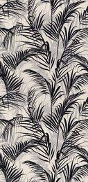 Тропикаль декорированный чёрный обрезной