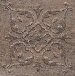 Вставка Браш Вуд коричневый тёмный