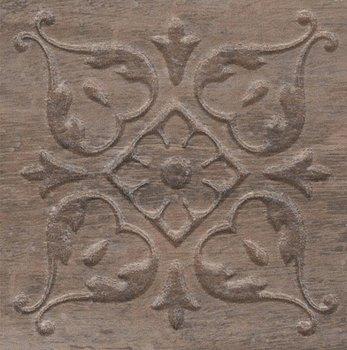 Вставка Браш Вуд коричневый тёмный-5743