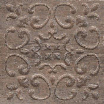 Вставка Браш Вуд коричневый тёмный-5744