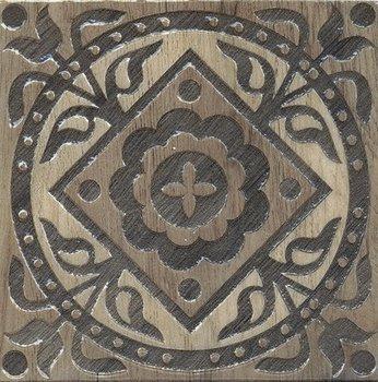 Вставка Фратте серый лаппатированный-8531