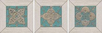Вставка Меранти белый мозаичный-6446
