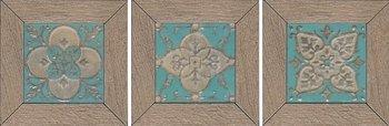 Вставка Меранти беж мозаичный-6445