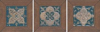 Вставка Меранти беж темный мозаичный-6444
