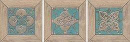 Вставка Меранти пепельный светлый мозаичный