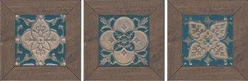 Вставка Меранти венге мозаичный-6443