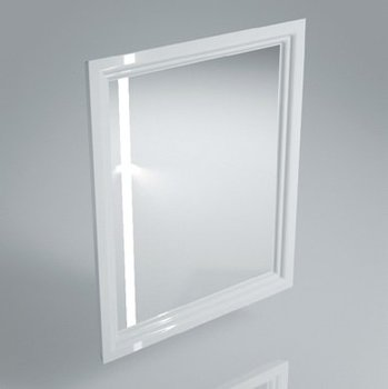 Зеркало POMPEI 60 см, белое-9150
