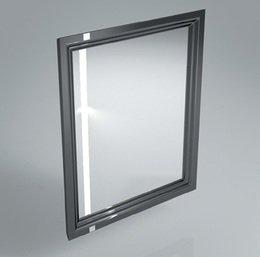 Зеркало POMPEI 60 см, черное