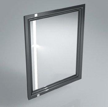 Зеркало POMPEI 60 см, черное-9149