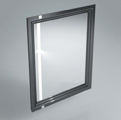 Зеркало POMPEI 60 см, черное - главное фото