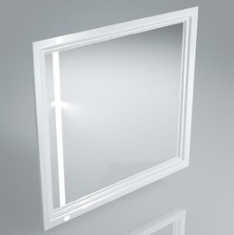 Зеркало POMPEI 80 см, белое
