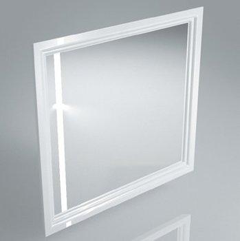 Зеркало POMPEI 80 см, белое-9152