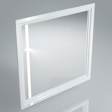Зеркало POMPEI 80 см, белое - главное фото